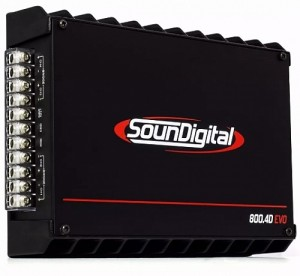 4-канальный усилитель Soundigital