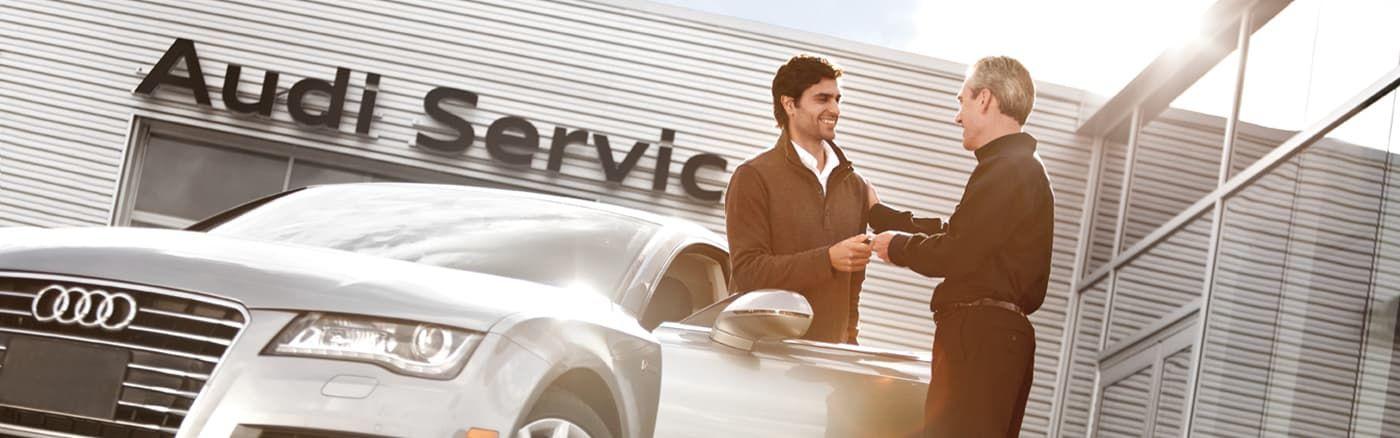 Сервис Audi – только в профессиональных центрах технического обслуживания